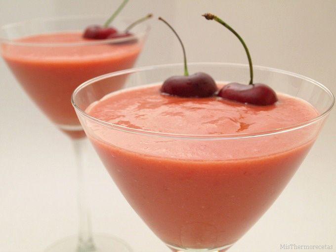 Gazpacho de cerezas del Bierzo
