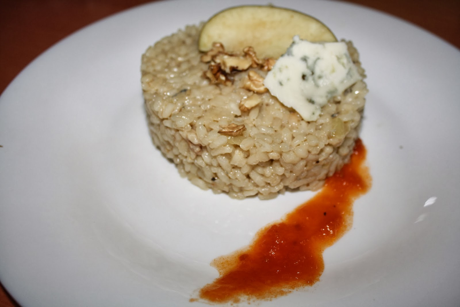 risotto con manzana reineta del Bierzo