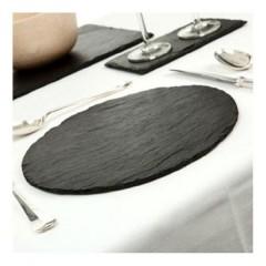 6 platos de pizarra 30cm de diámetro