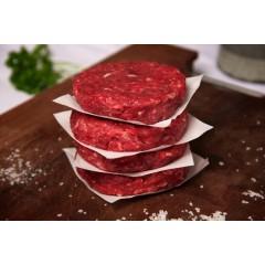 4 Hamburguesa gourmet de carnes rojas o ternera / 200 gr cada una