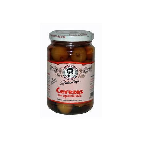 Cerezas en aguardiente (peso neto 935 grs)