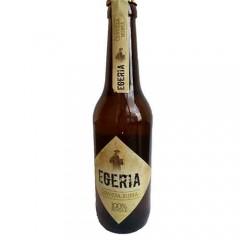 Cerveza artesana Egeria Rubia 33cl. Caja de 6 unidades. Agotada temporalmente