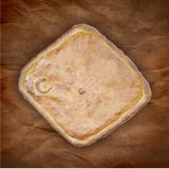 Empanada de pollo con setas