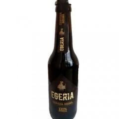 Cerveza artesana Egeria Negra 33cl. Caja de 6 unidades. Agotada temporalmente
