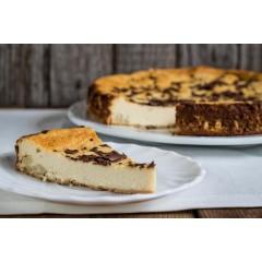 Tarta de queso de cabra con castañas. 800gr