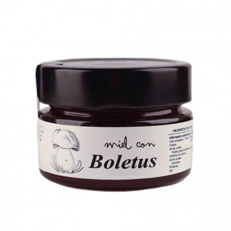 Miel con Boletus
